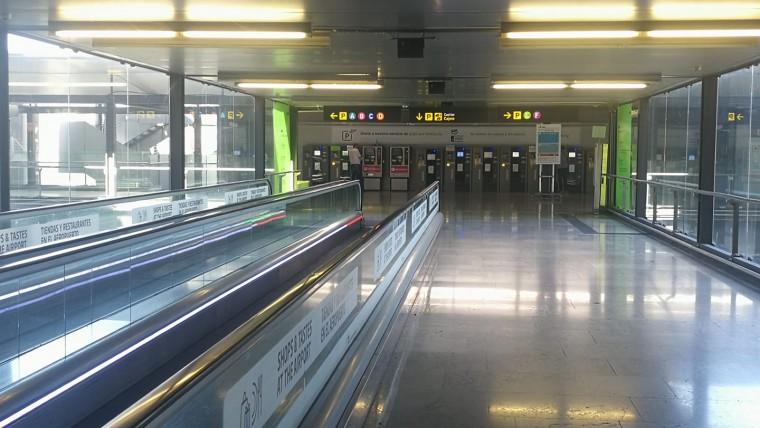 Punto de encuentro TransferTaxi en Aeropuerto de Madrid